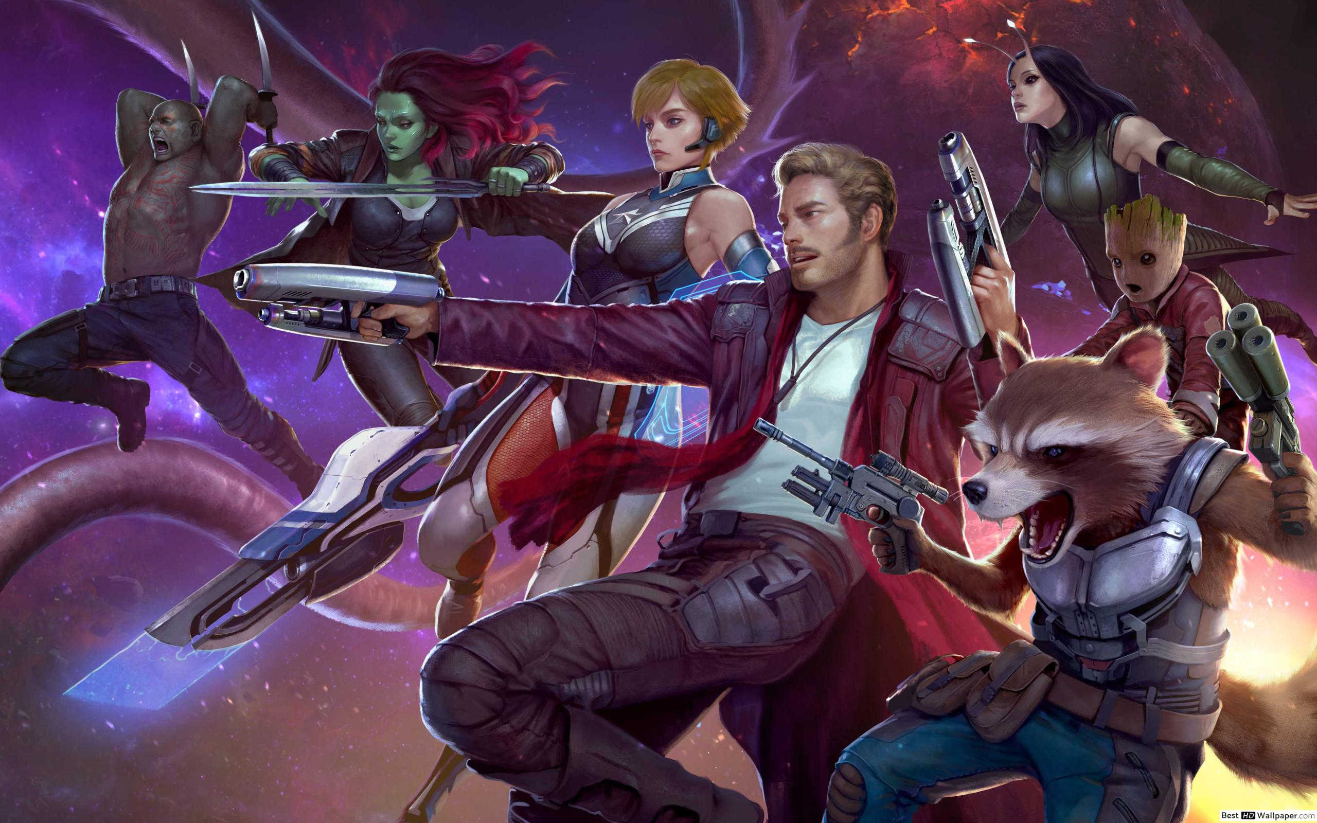 Samsung Galaxy Note Pro - Guardians Of The Galaxy Ttg , HD Wallpaper & Backgrounds