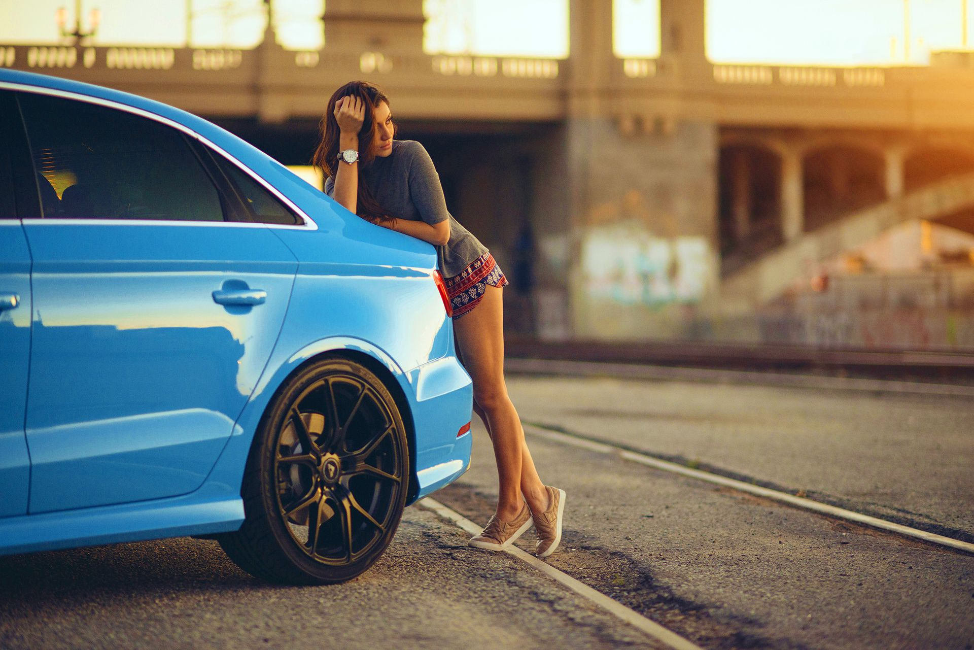 M Dchen Autos Full Hd Wallpaper And Hintergrund Audi Riviera Blue Audi Rs3 707041 Hd Wallpaper Backgrounds Download