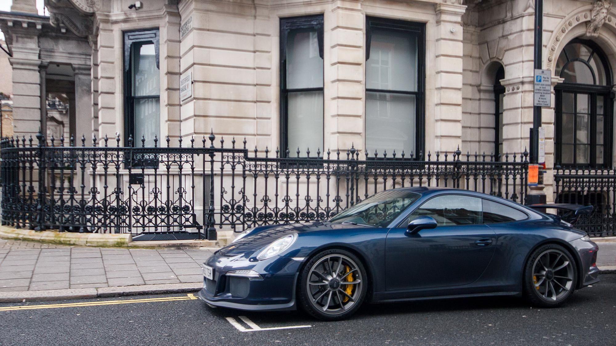 Supercar 991 London Blue Gt3 Porsche 4k Ultra Hd Wallpaper