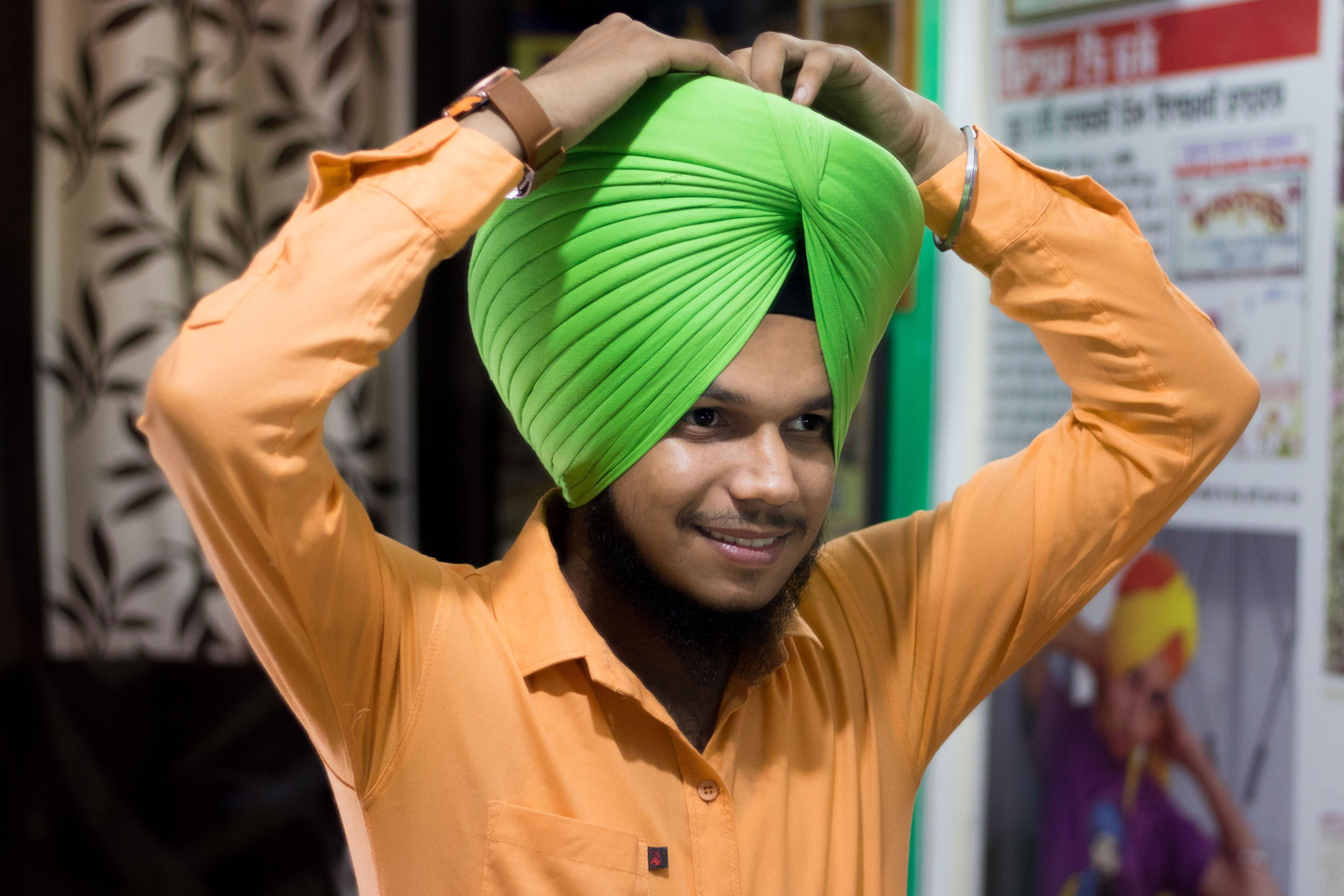 This Is A Patiala Shahi Turban Turban 711036 Hd Wallpaper Backgrounds Download