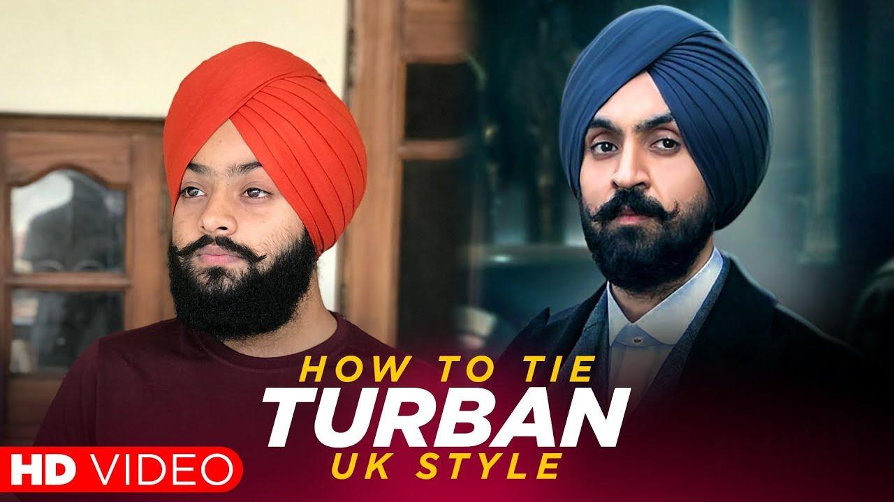 Uk Style Turban - Diljit Dosanjh Turban Style , HD Wallpaper & Backgrounds