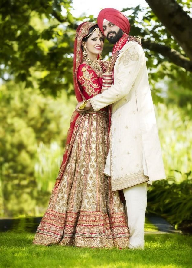 Sweet Punjabi Wedding Couple Portraits 712863 Hd Wallpaper Backgrounds Download