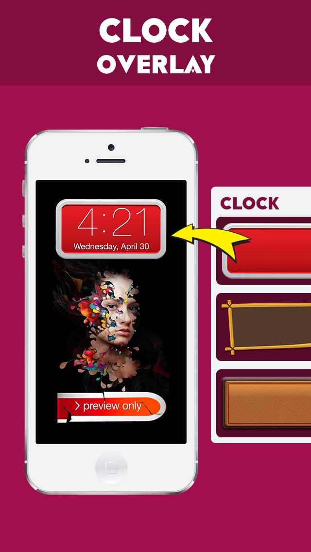 My Color Lock Screen Wallpaper Themes For Ios - Iphone , HD Wallpaper & Backgrounds