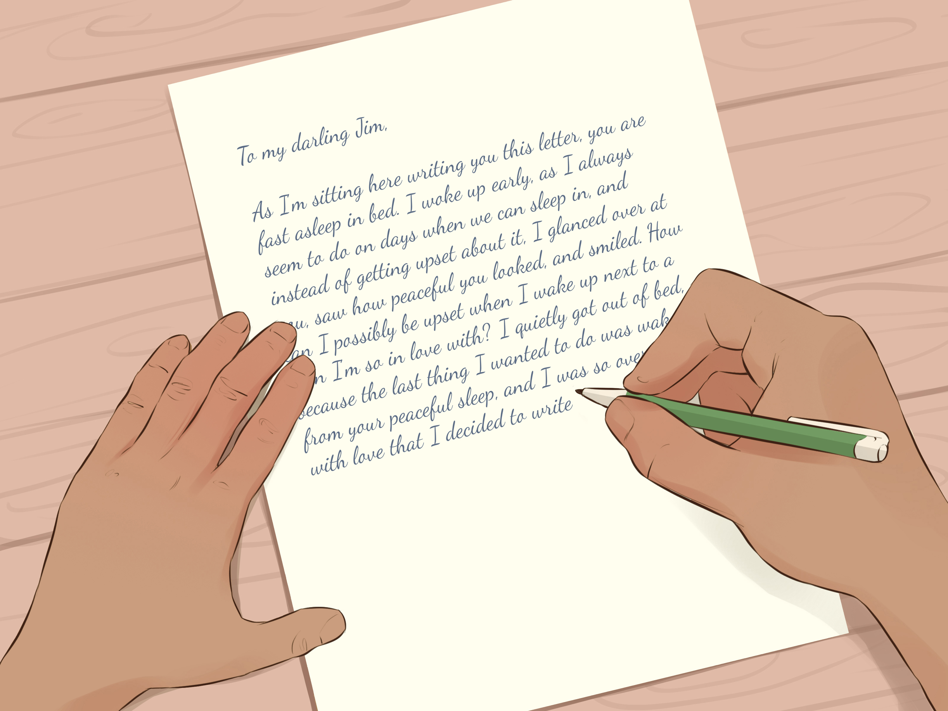 How To Write A Love Letter - Make A Valentine Letter For Your Teacher , HD Wallpaper & Backgrounds