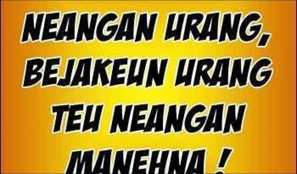 Kata Mutiara Bahasa Sunda Halus Terunik Kata Kata Mutiara