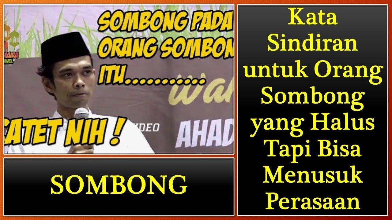 Kata Kata Untuk Orang Sombong Bahasa Sunda