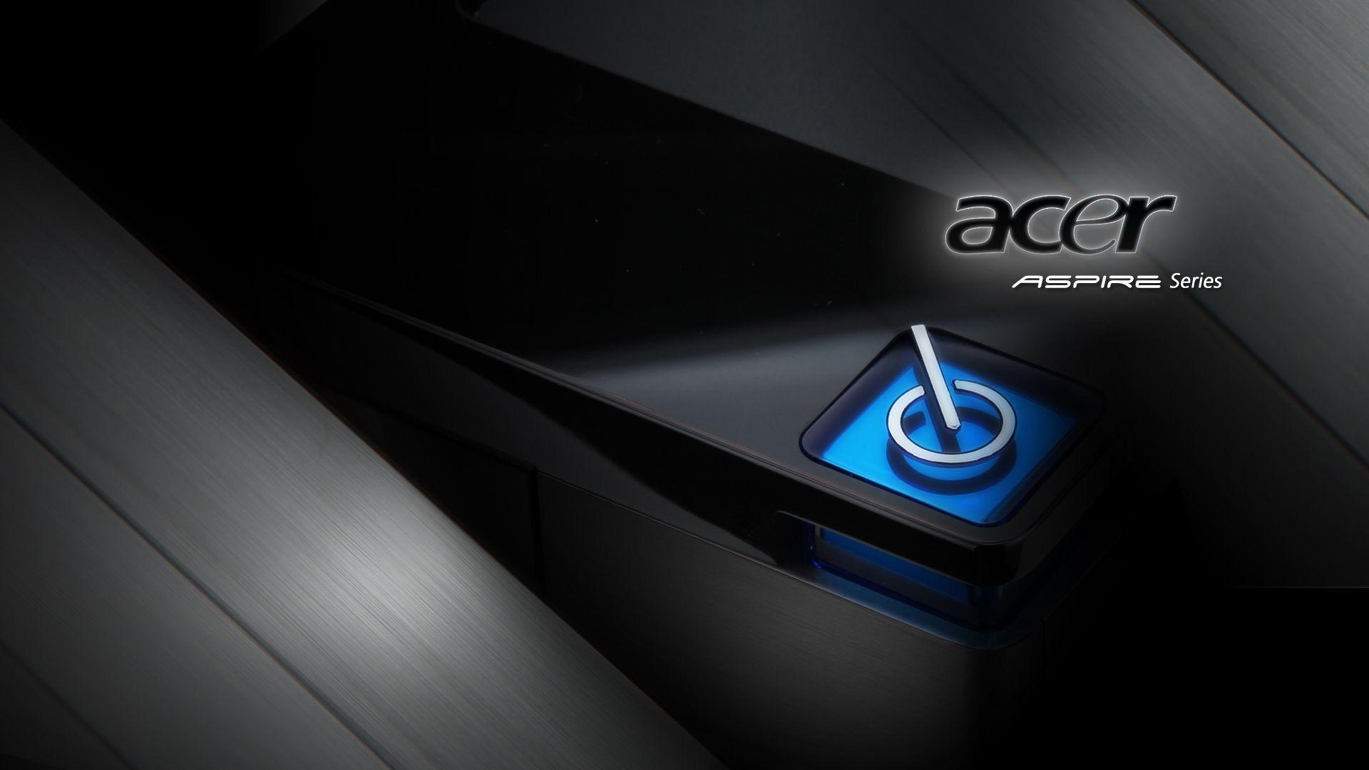 Acer Aspire Blue Desktop Pc And Mac Wallpaper