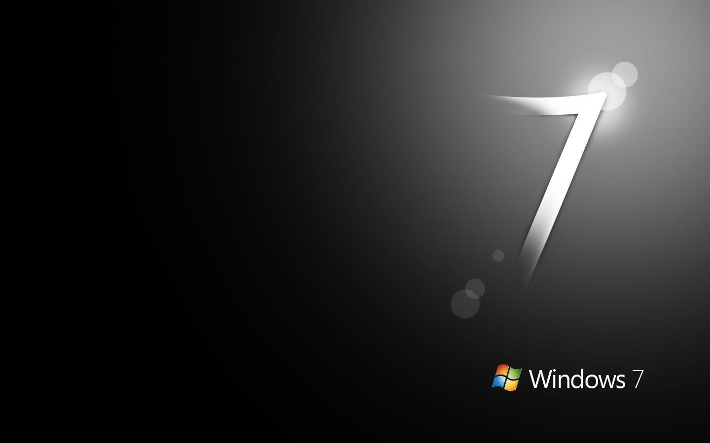 Windows 7 Black Wallpapers Windows 7 Wallpaper Black