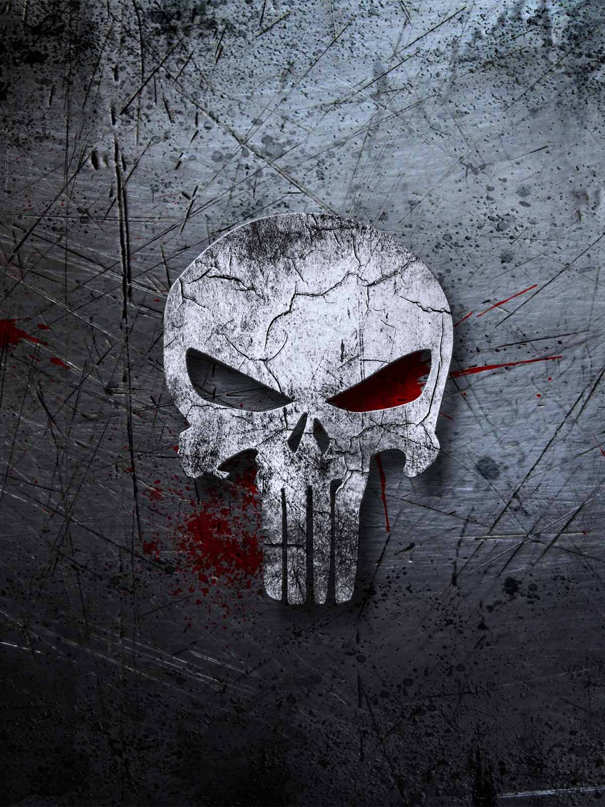 This Wallpaper Is Shared By Mordeo Member Gedaboy And - Iphone X Punisher , HD Wallpaper & Backgrounds