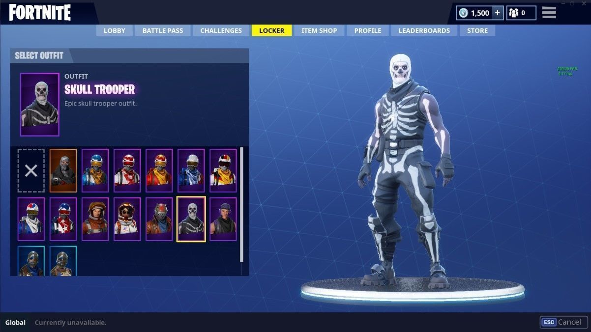 Fornite Skull Trooper Skins Wallpaper Lock Screen Pinterest