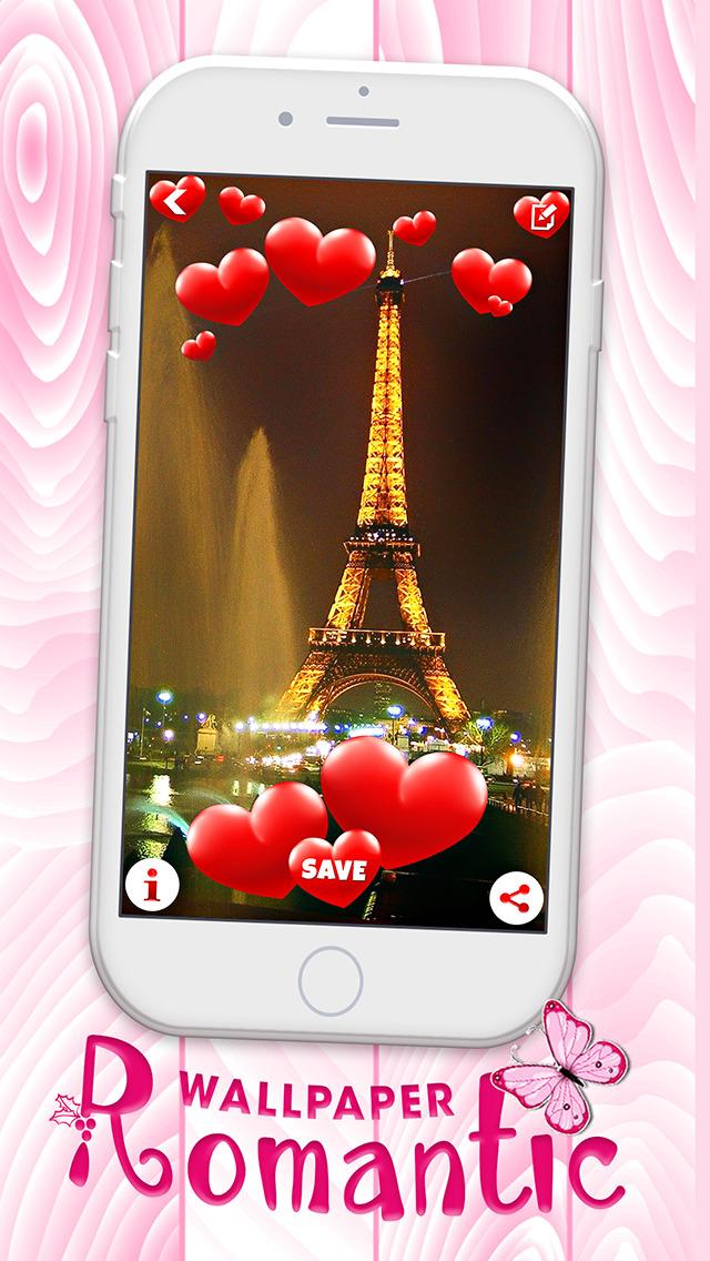 Love Screen Wallpaper Eiffel Tower 730529 Hd Wallpaper