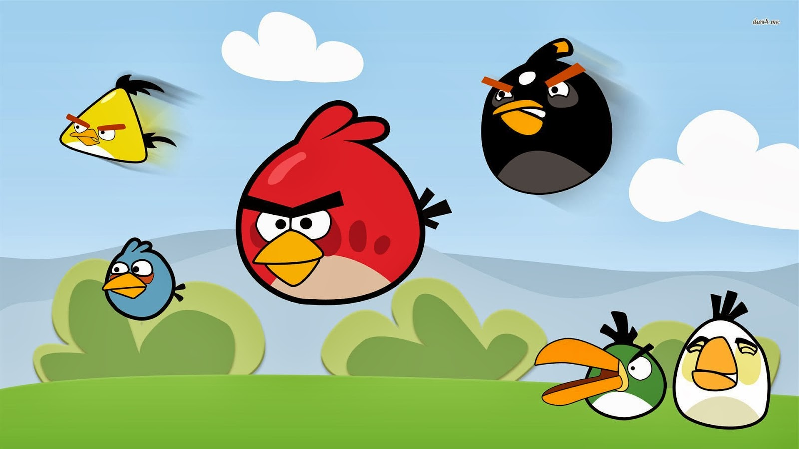 Wallpaper Angry Birds Background Hd HD