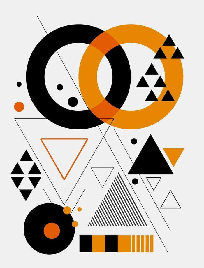Wallpaper Custom Segitiga - Geometric Pattern Abstract Background Modern Design , HD Wallpaper & Backgrounds