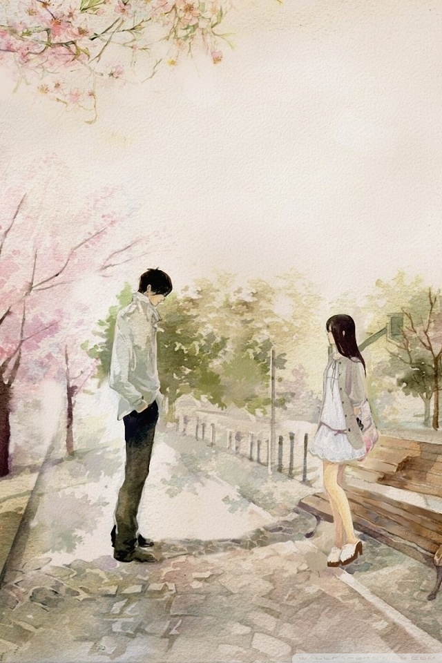 Cute Anime Couple Wallpaper Android 731233 Hd Wallpaper Backgrounds Download