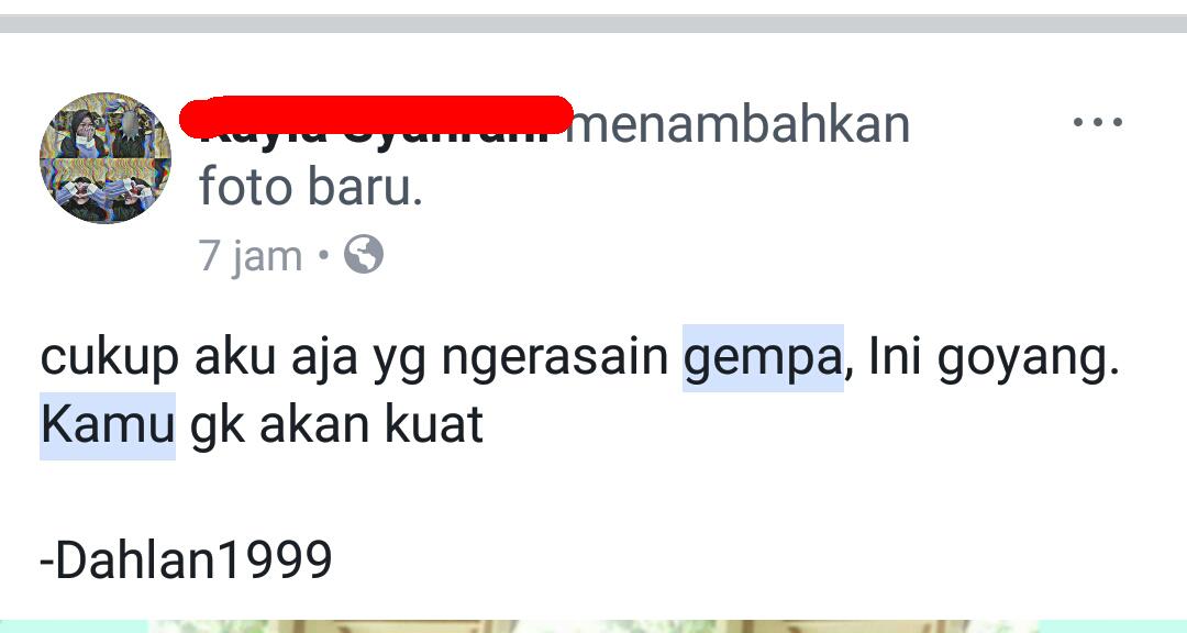 pelesetan dari quote novel dilan status netizen lucu