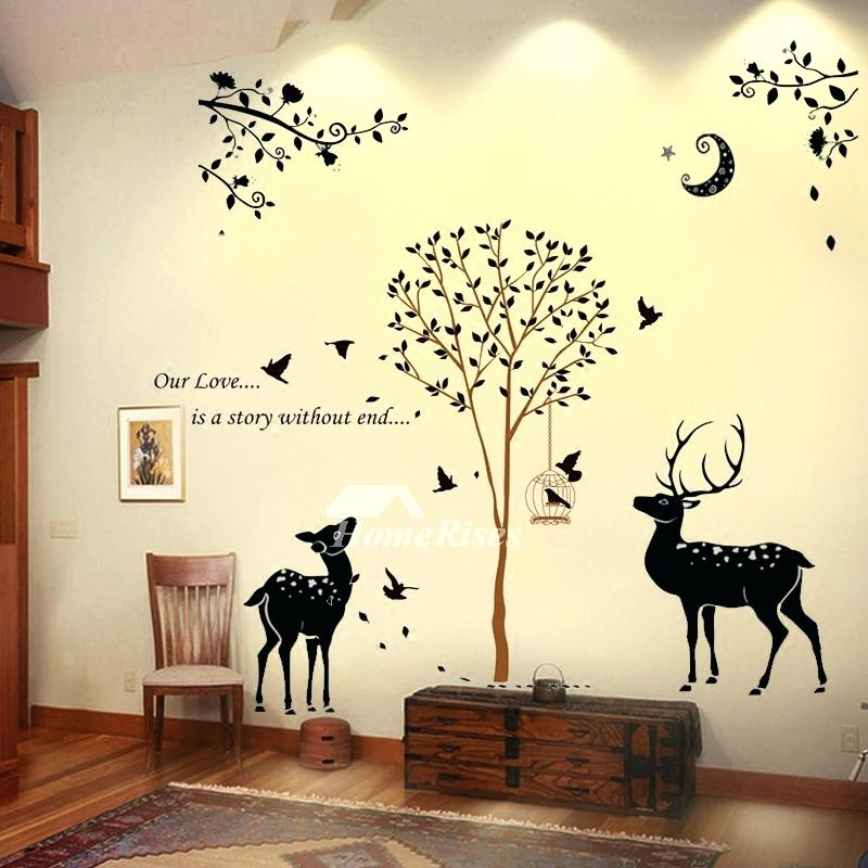 Wall Stickers For Living Room Decorative Wall Stickers - Tree Bedroom Wall Stickers , HD Wallpaper & Backgrounds