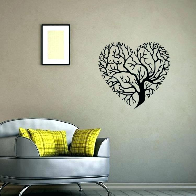 Wall Stickers For Living Room Wall Stickers For Living - Wall Art And Decor Stickers , HD Wallpaper & Backgrounds