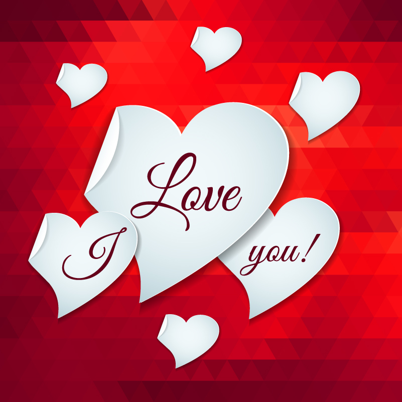 Valentine S Day I Love You Vector Free Download Love You Images