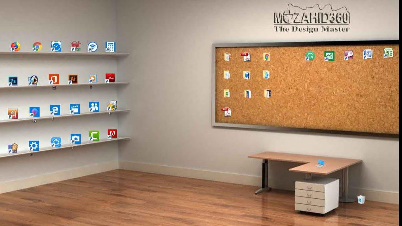 73 735977 how to make a beautiful classic 3d desktop