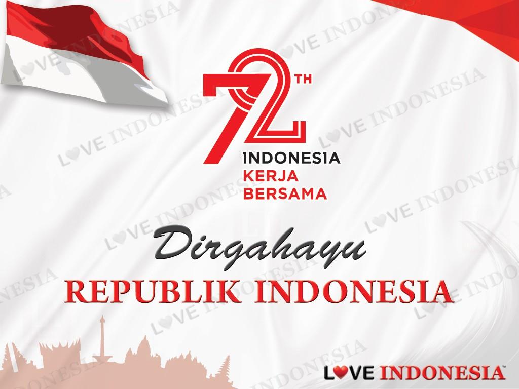 Dirgahayu Kemerdekaan Republik Indonesia Ke 72 Poster 742726