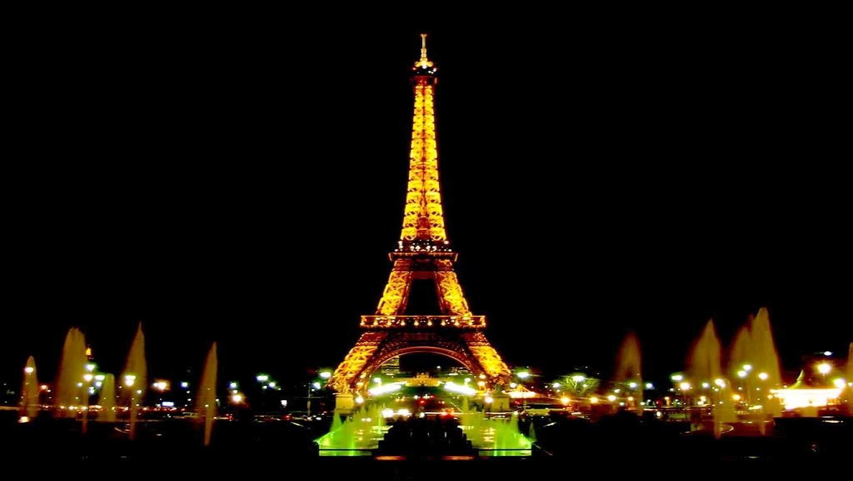 10 Wallpaper Menara Eiffel Malam Hari Keren Dan Unik