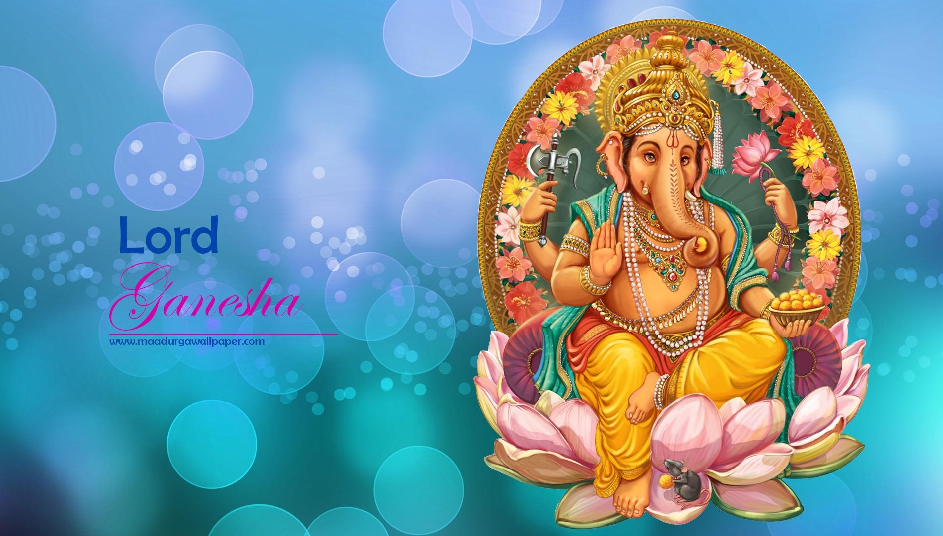 4k Ultra Hd-god - Lord Ganesha Desktop Wallpapers Hd , HD Wallpaper & Backgrounds