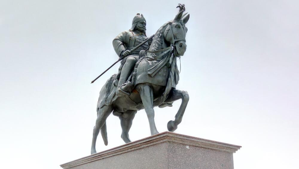 Here Is A List Of Maharana Pratap Images, Wishes, Greetings, - Statue , HD Wallpaper & Backgrounds