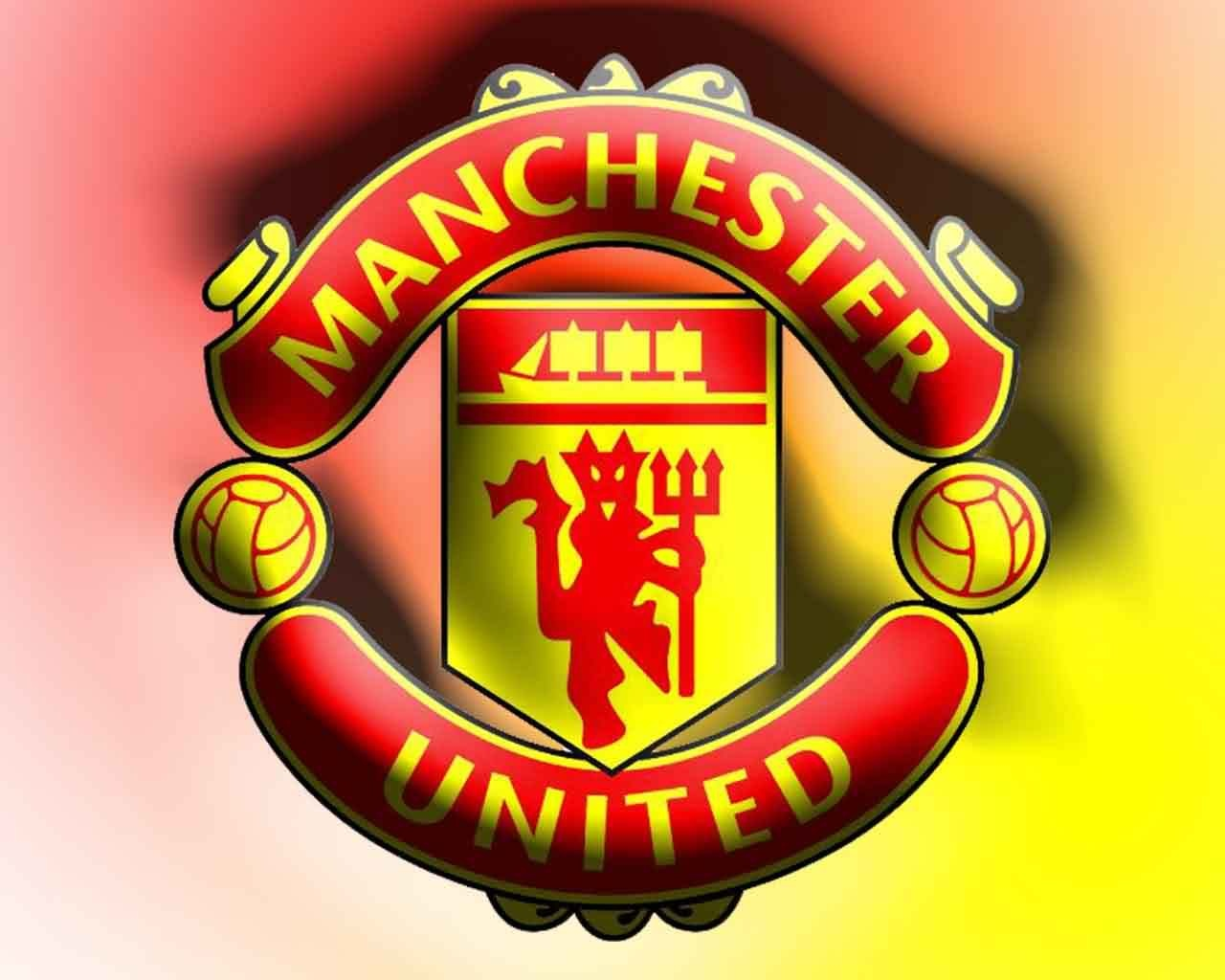 Download Wallpaper Manchester United Bergerak Logo