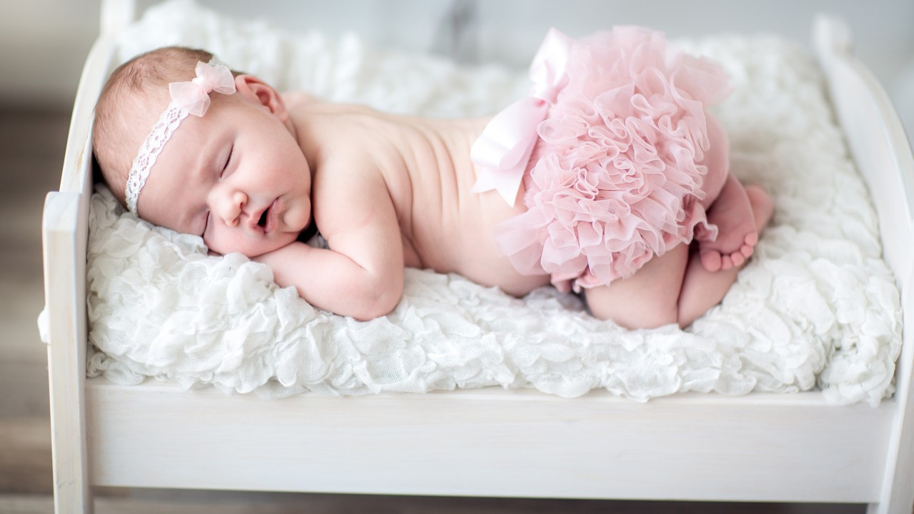 Cute / Newborn Baby Wallpaper - New Born Baby Girl , HD Wallpaper & Backgrounds