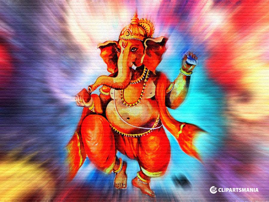 76 766327 lord ganesh hd painting vinayagar painting images hd
