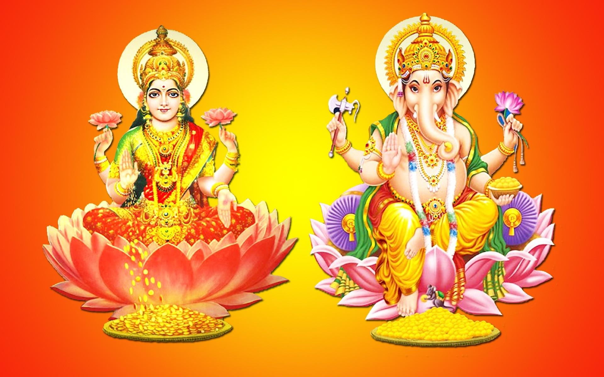 Laxmi Devi Hd Wallpaper Laxmi And Ganesh Ji 766782 Hd Wallpaper Backgrounds Download