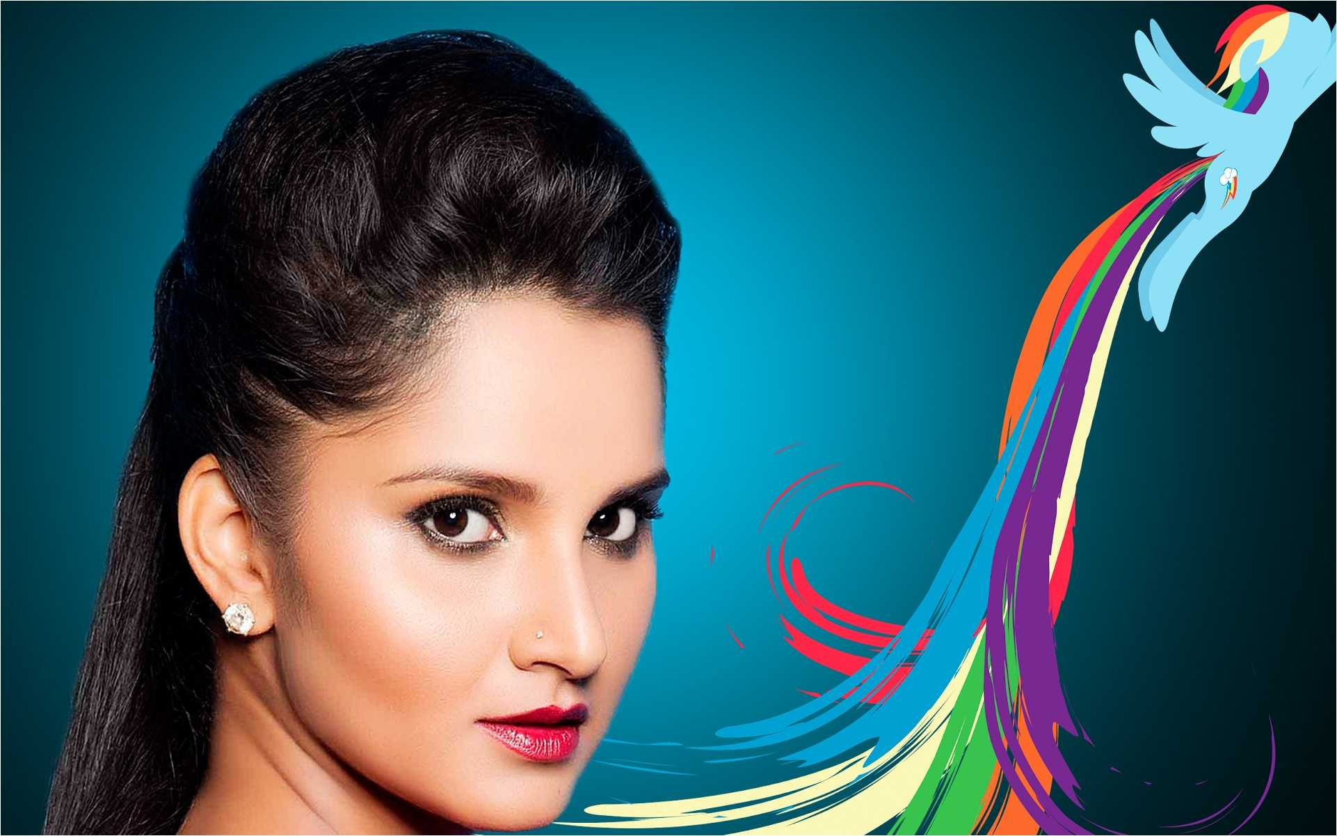 100% Quality Hd Amazing Sania Mirza Backgrounds Hd - Graphic Design , HD Wallpaper & Backgrounds