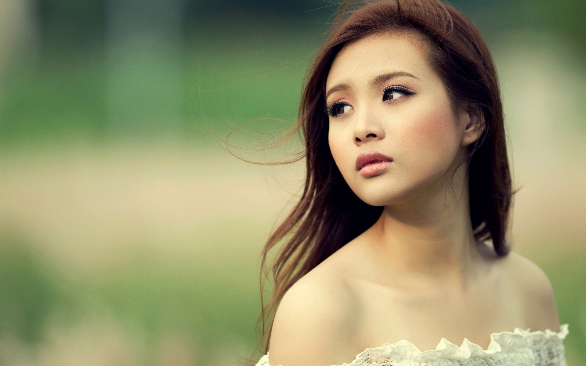 Girl Asian Portrait Hd Wallpaper - Asian Girl , HD Wallpaper & Backgrounds
