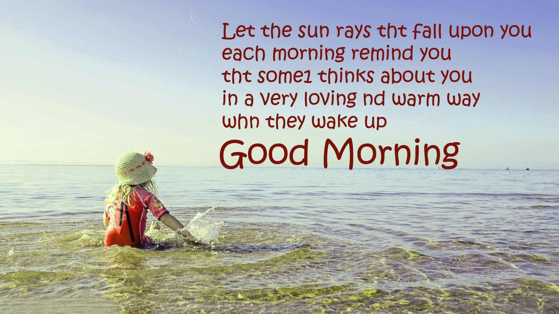 Good Morning Feeling Quotes , HD Wallpaper & Backgrounds