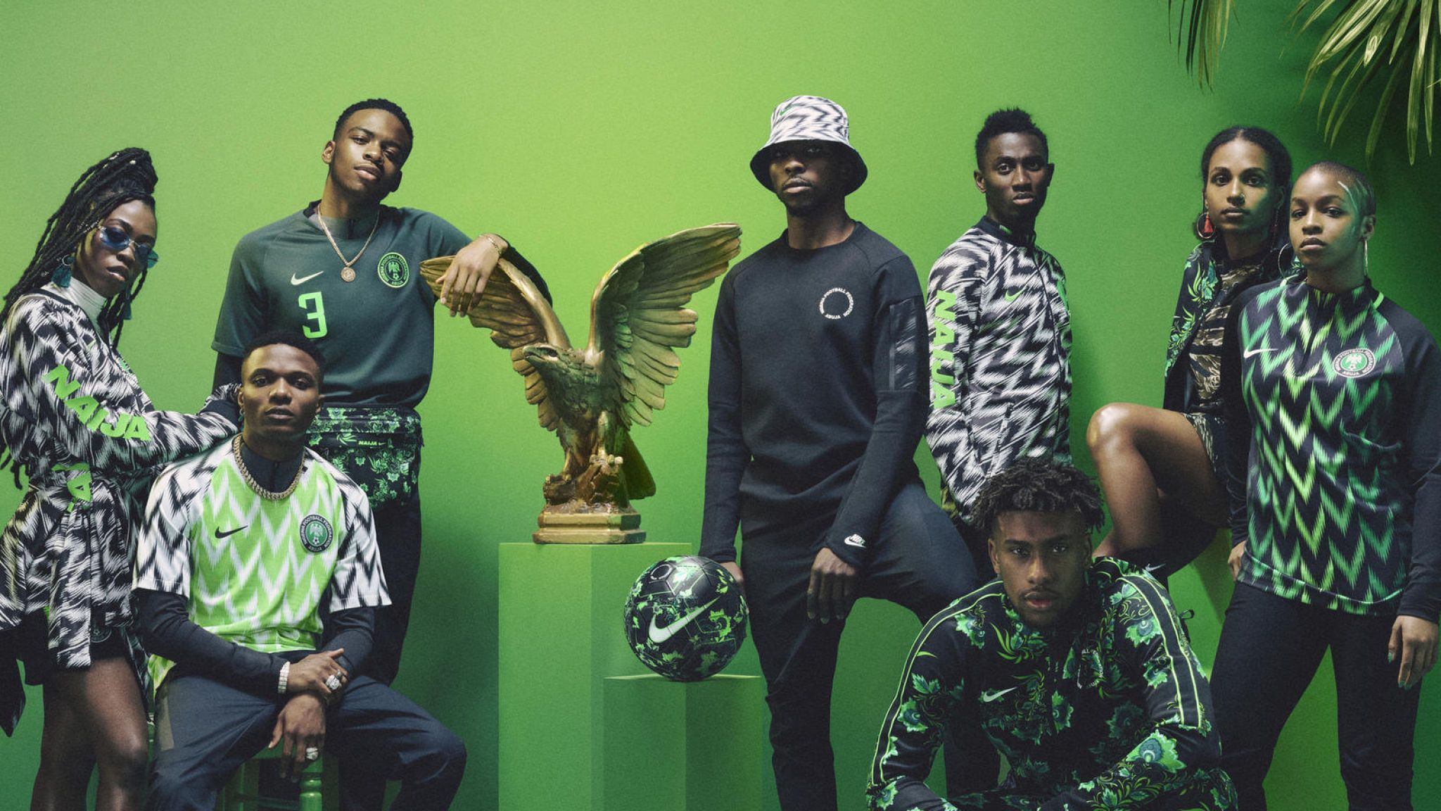 Nigeria World Cup Kit Sells Out With Three Million - Nigerian World Cup Kit , HD Wallpaper & Backgrounds