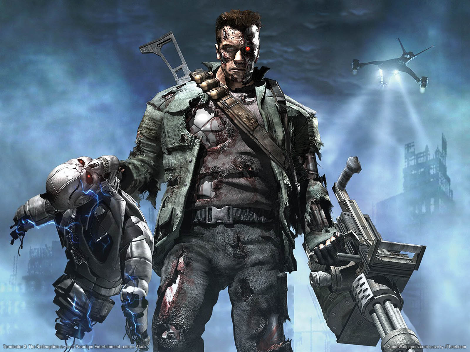 Tags Terminator Terminator 4 773422 Hd Wallpaper