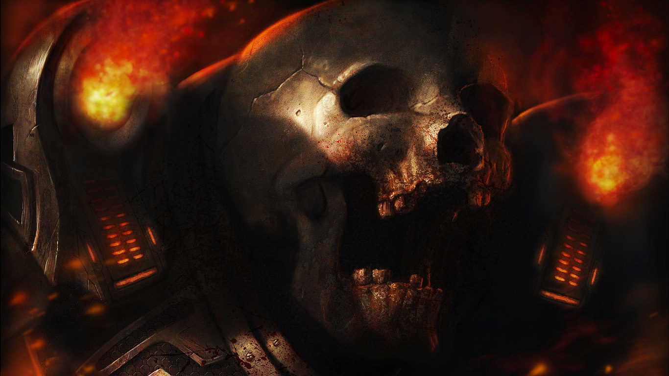 Doom 4 Video Game 4k Wallpaper, Free Computer Desktop - Doom Revenant Art , HD Wallpaper & Backgrounds
