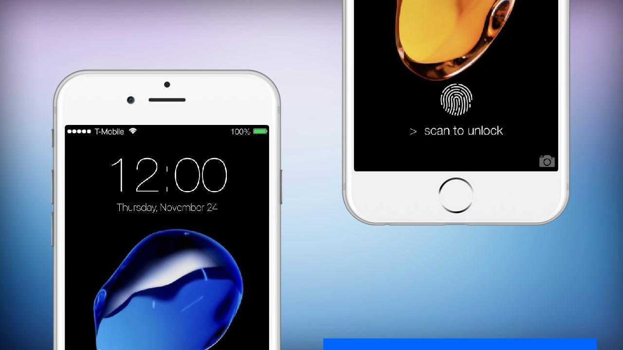 Fingerprint Lockscreen Prank Iphone - Iphone , HD Wallpaper & Backgrounds