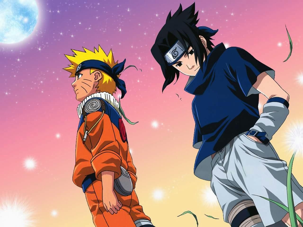 Gambar Kartun Jepang Animasi Bergerak Keren Sasuke Uchiha