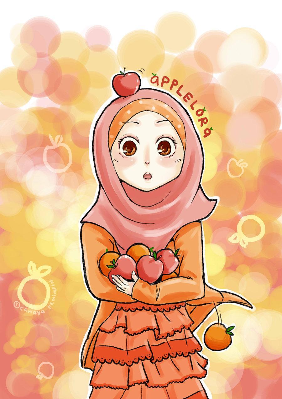 Gambar Wallpaper Animasi Muslimah Gudang Wallpaper Kartun