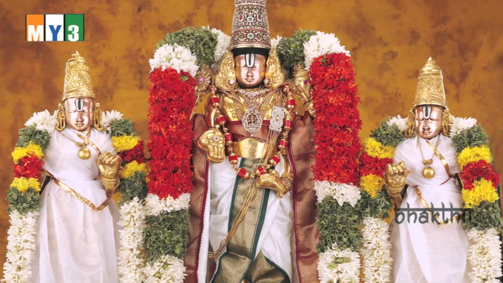 Lord Venkateswara Hd Wallpapers Lord Venkateswara Sridevi Bhudevi 780204 Hd Wallpaper Backgrounds Download