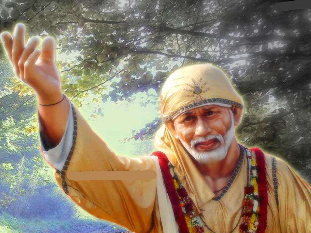 Latest Hd Sai Baba Original Images Pictures Wallpaper - Sai Baba Wallpaper Full Size , HD Wallpaper & Backgrounds