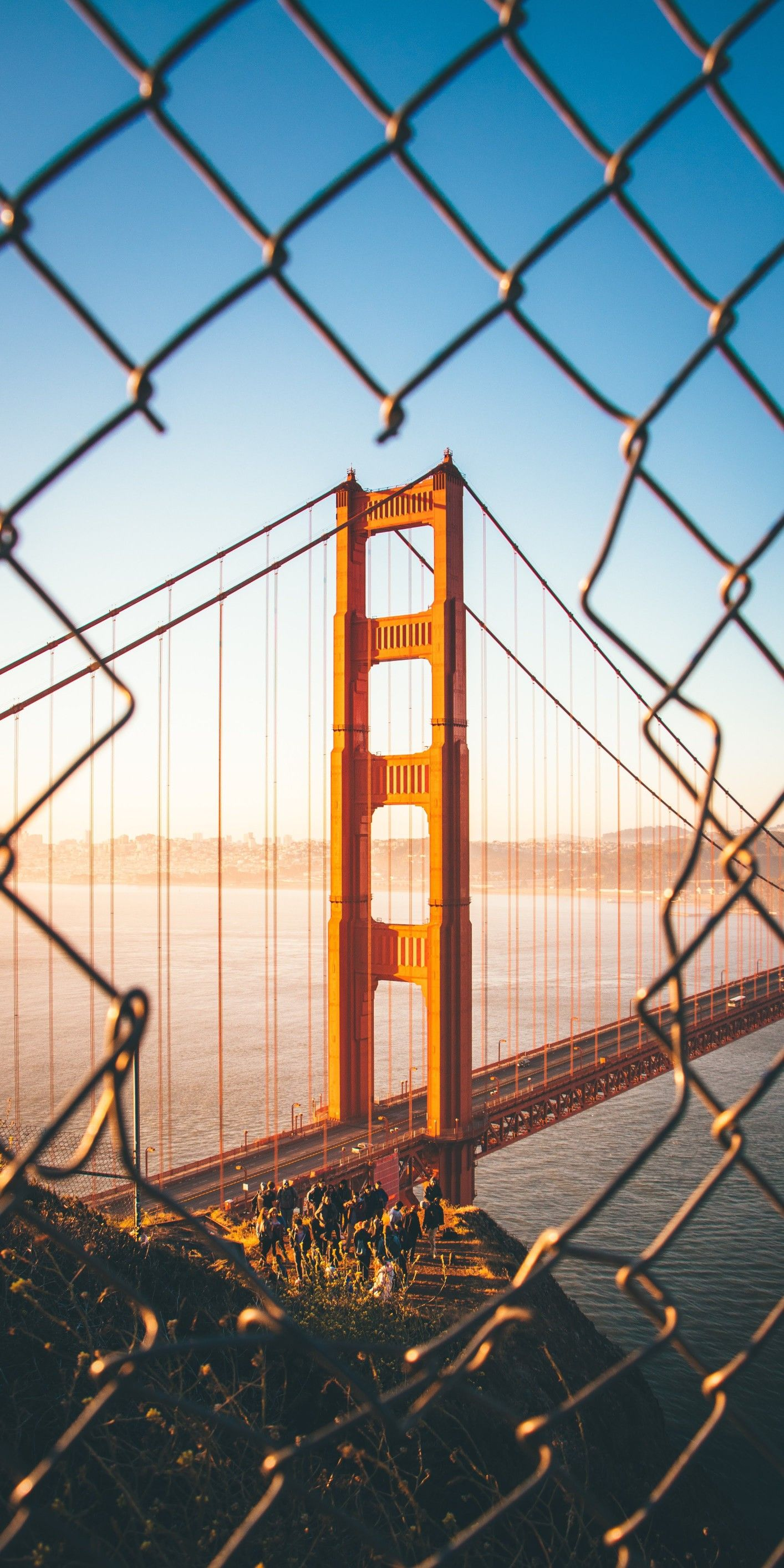 Wallpapers For Iphone X Iphone 8 And Iphone Golden Gate Bridge