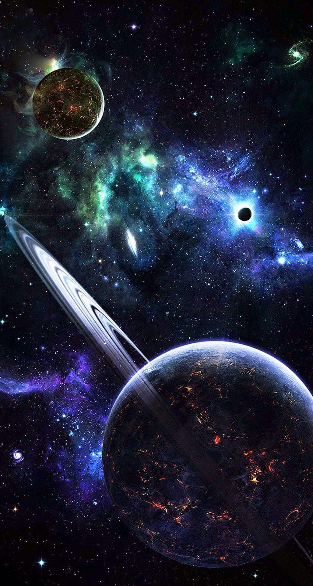 Sistema Solar De Um ângulo Já Mais Visto Planetas Galaxias