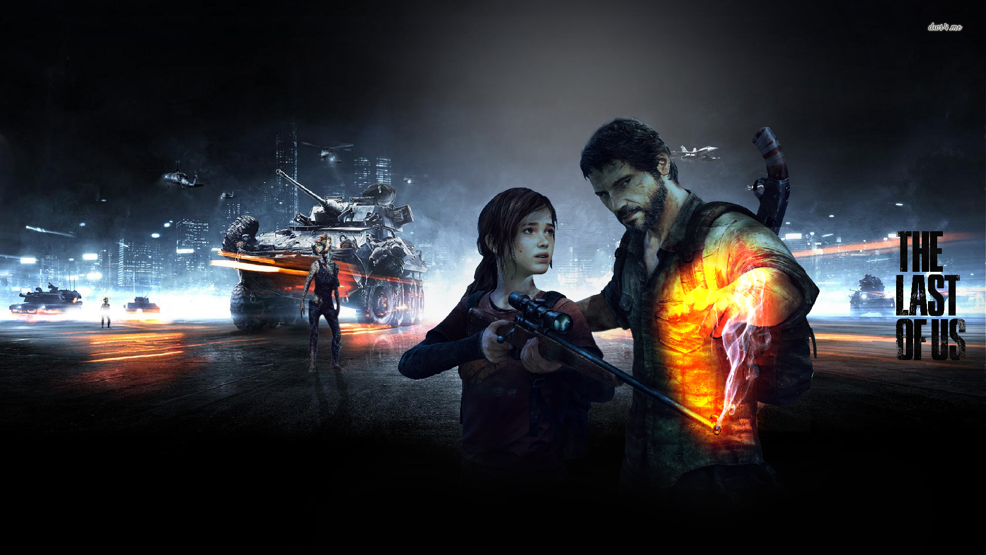 The Last Of Us Wallpaper - Battlefield 3 Wallpaper Hd , HD Wallpaper & Backgrounds