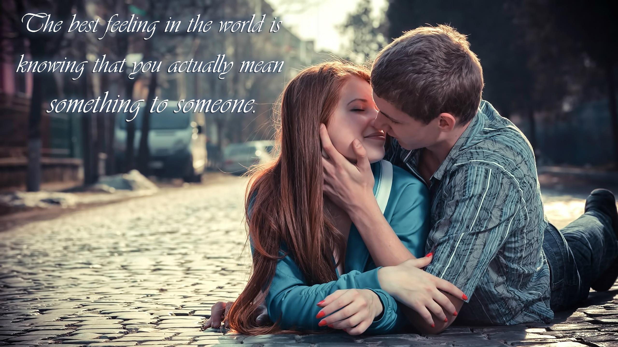 Cute Kissing Couple World Best Cute Couple 790332 Hd