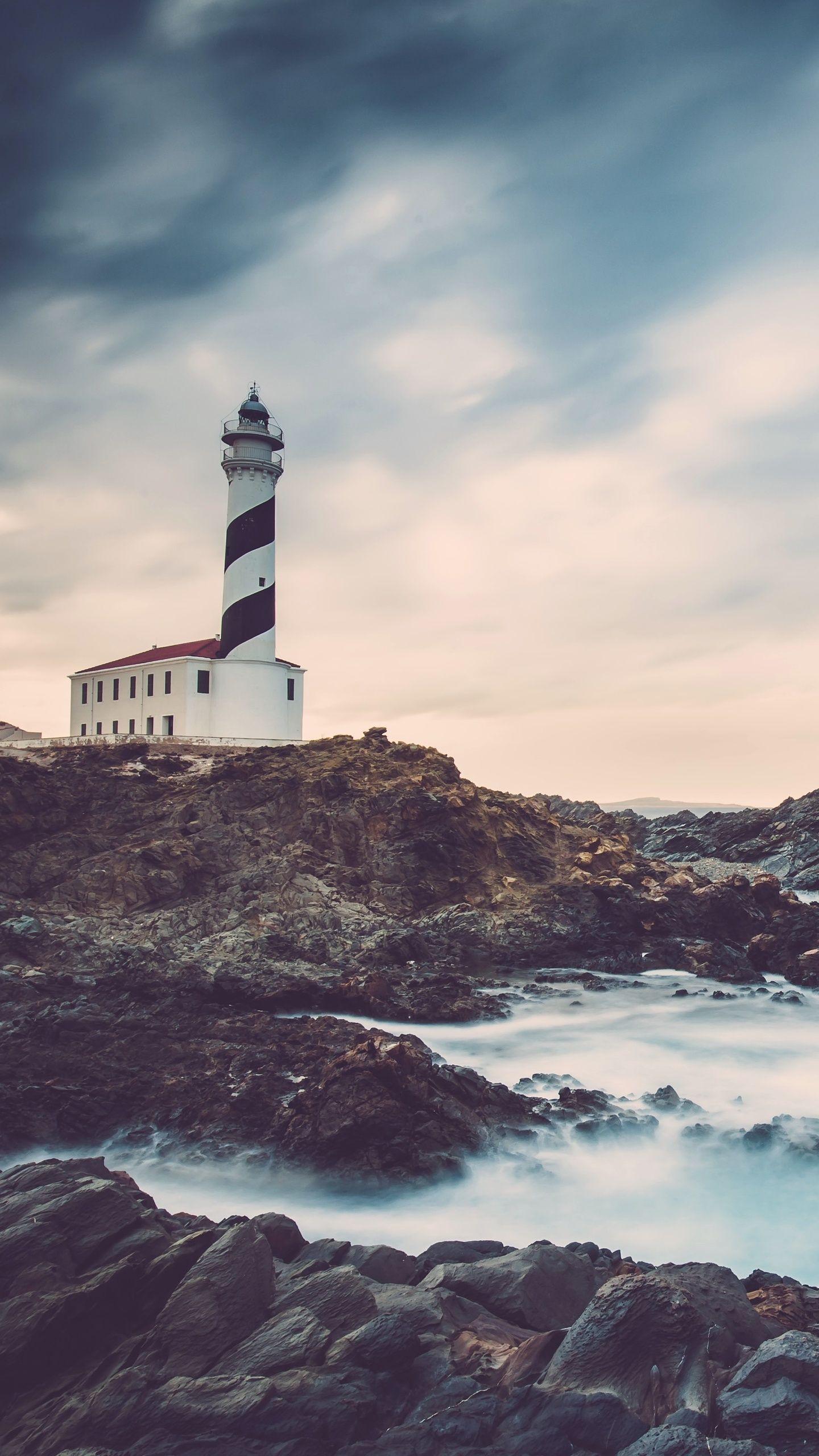Landscape Wallpaper Samsung S7 New 1440×2560 Lighthouse - Iphone 8 Plus Lighthouse Wallpaper Hd , HD Wallpaper & Backgrounds