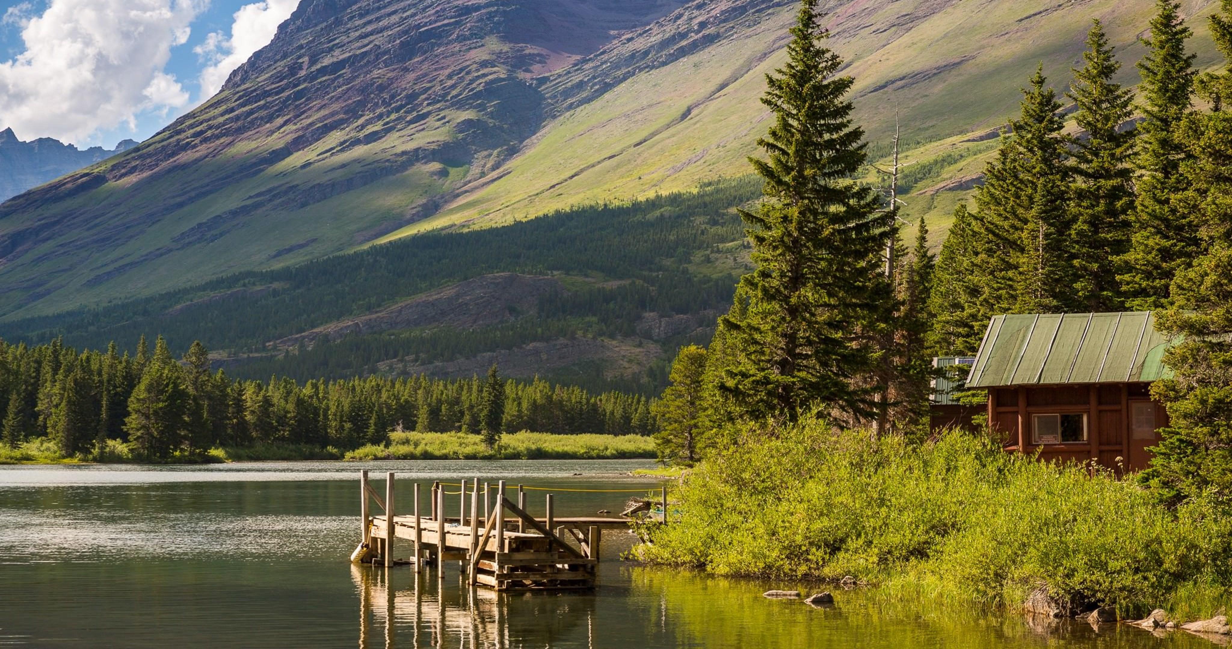 Hike Lake Glacier National Park Montana 4k Ultra Hd Montana