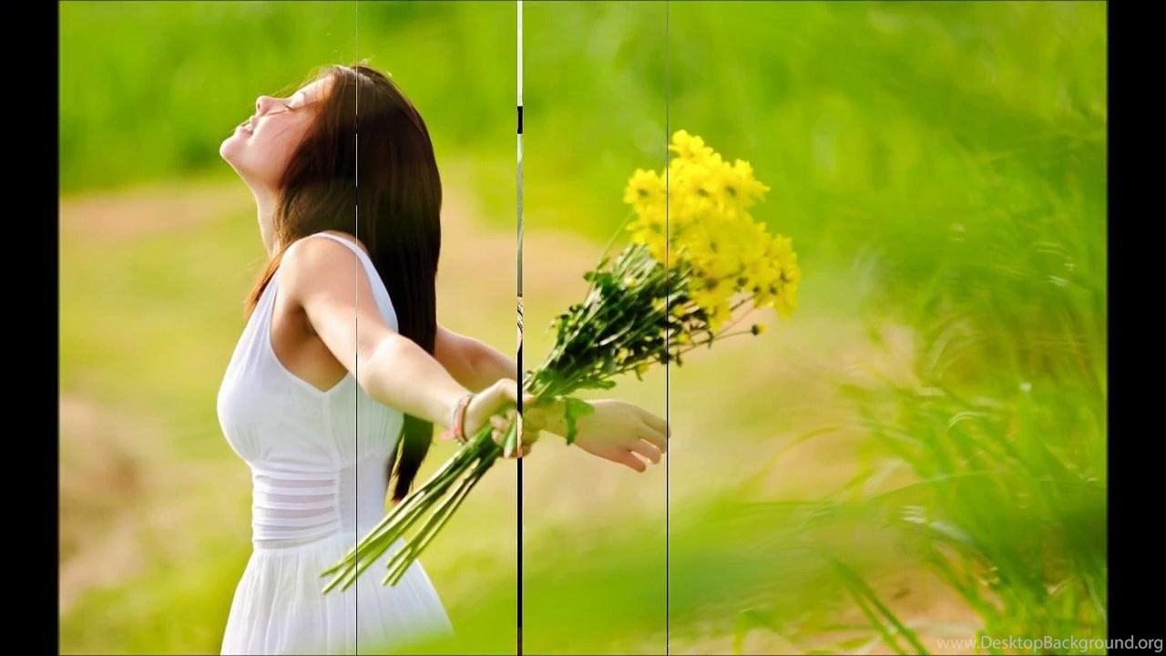 Mobile - Girls In Happy Mood , HD Wallpaper & Backgrounds