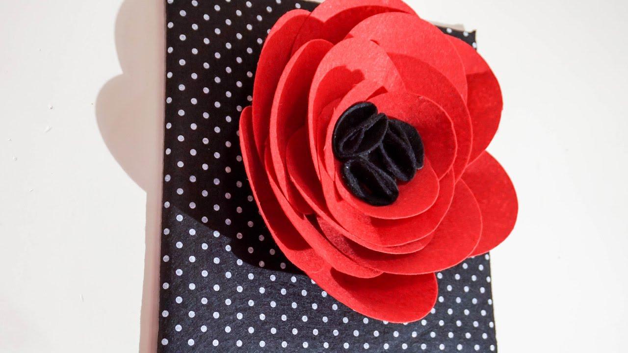 Amazing Flower Wall Art 3 D I Y Decor Handi Work 80 - 3d Wall Flower Art , HD Wallpaper & Backgrounds